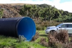 Large bore EUROFLO in rural install