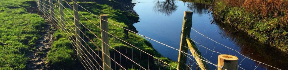 fence-river
