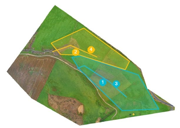 Farm mapped for pipe installation